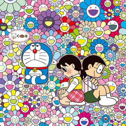 Takashi Murakami, 'First love And I think about tonight's dinner, etc.', 2020
