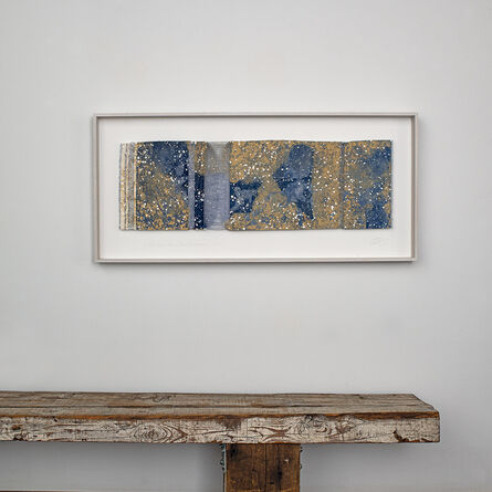 Chiyoko Tanaka, 'Mud-Dyed Cloth - Blue with White Dots 6.5.1', 2019