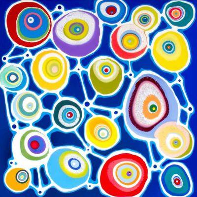 Klari Reis, 'Entwined Blue', 2014