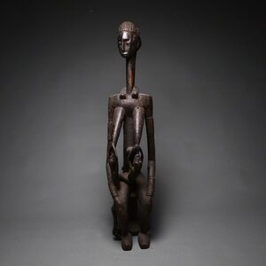 Unknown African, 'Kulango Wooden Sculpture of a Queen Mother', 20th century A.D.