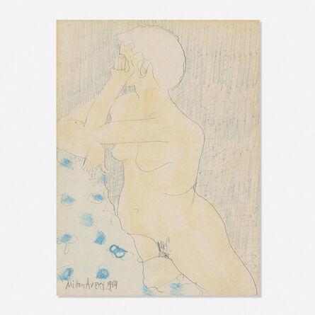 Milton Avery, 'Untitled (Nude)', 1959