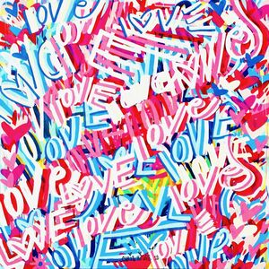 CHRIS RIGGS, 'Love Painting 3', 2018