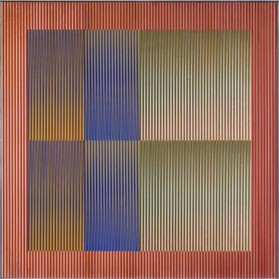 Carlos Cruz-Diez, 'Physichromie No. 1017', 1975