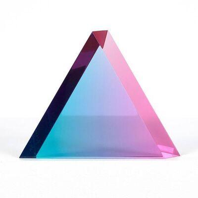 Vasa, 'Blue Raspberry Triangle', 2018