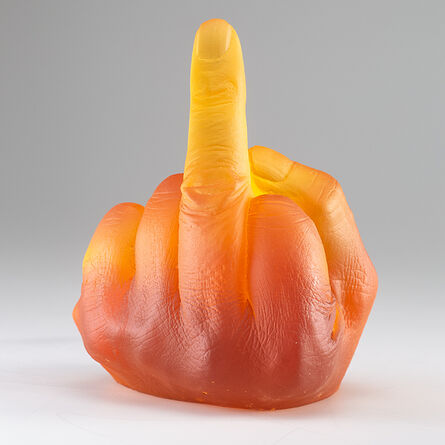 Ai Weiwei, 'Study of Perspective in Glass (Deep Amber)', 2018-2019