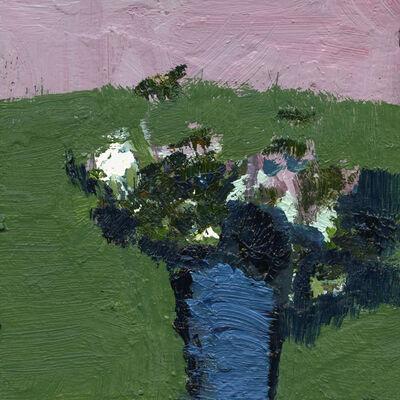 Jennifer Hornyak, 'Smoke Green with Pink', 2021