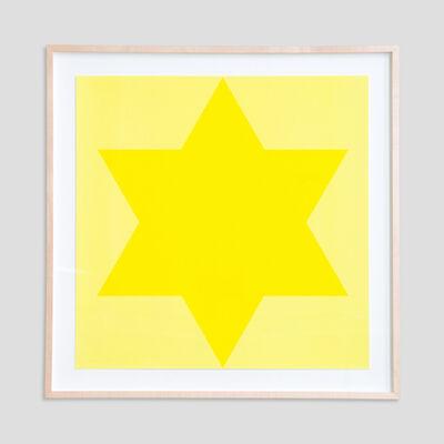 Olivier Mosset, 'Yellow Star', 1998