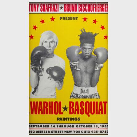 Andy Warhol, 'Warhol-Basquiat Poster', 1985