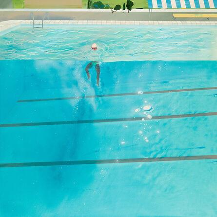 Yang-Tsung Fan, 'Swimming pool series-dazzling bubbles ', 2013
