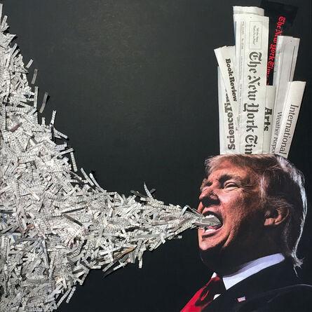 Florence Weisz, 'Trumpart: Fake News', 2017