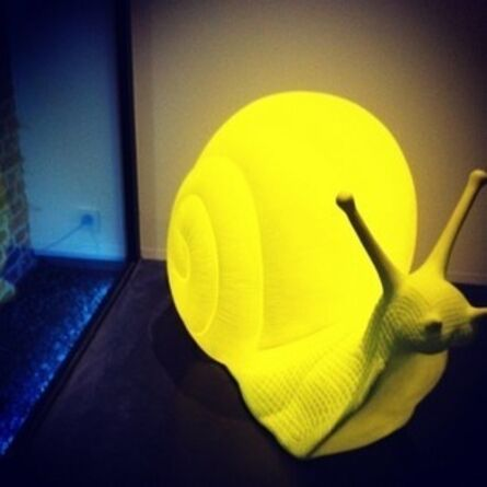 Cracking Art Group, 'Snail (Mini) (Yellow)'