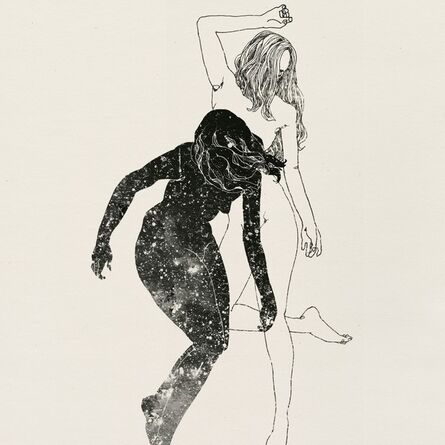 Lu Cong, 'Monoprint from The Night drawing series'