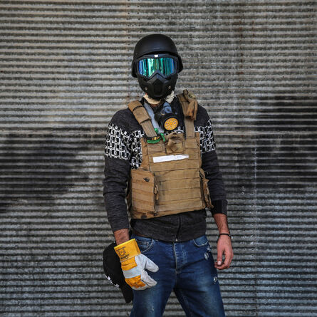 Abdullah Dhiaa Al-Deen, 'the Anti-Teargas Grenade Squad', 2019