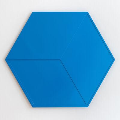 Ad Dekkers, 'Zeshoek en ruit in overgang / Hexagon and lozenge in transition', 1967
