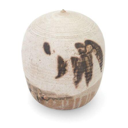 Toshiko Takaezu, 'Toshiko Takaezu Glazed Stoneware Vessel'