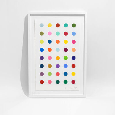 Damien Hirst, 'Ribonolactone, from 40 Woodcut Spots', 2011
