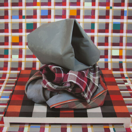 Michelle Forsyth, 'Red and Grey Stack 1', 2014/2020