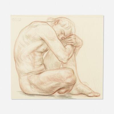 Paul Cadmus, 'Male Nude', 1985