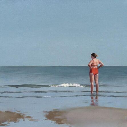 Elisabeth McBrien, 'Red Bathing Suit', 2018