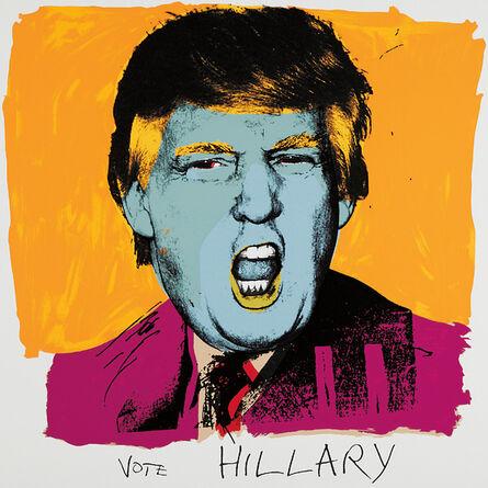 Deborah Kass, 'Vote Hillary', 2016