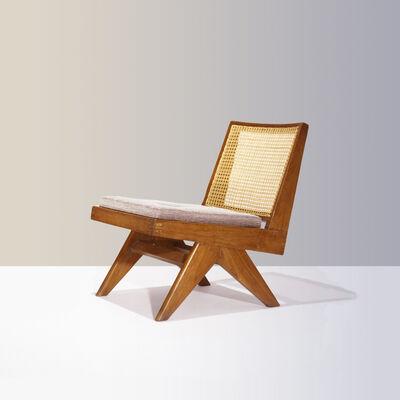 Pierre Jeanneret, 'PJ-SI-35-A | Armless Easy Chair', ca. 1960
