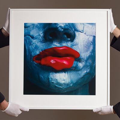 Tyler Shields, 'Red Lips (dye transfer)', 2018
