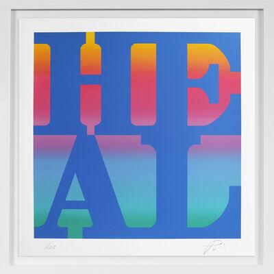 Robert Indiana, 'Heal', 2015