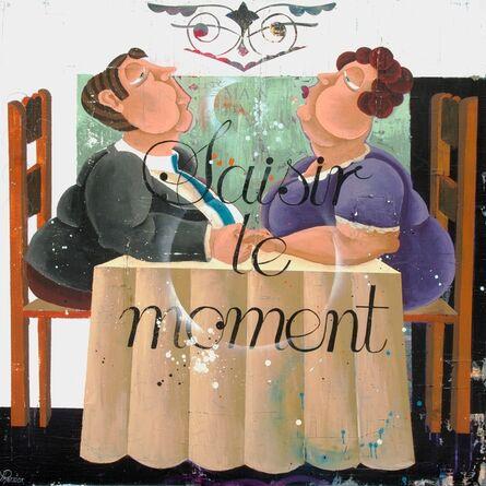 Rock Therrien, 'Saisir le moment', 2012