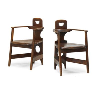 Richard Riemerschmid, 'Two armchairs', ca. 1900