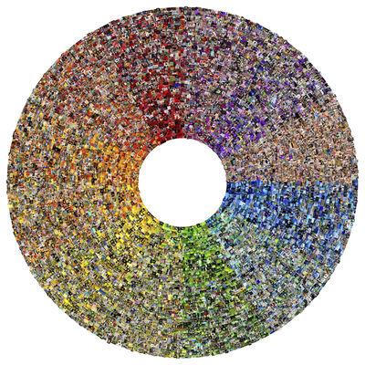 Jason Salavon, ' Wheel', 2012
