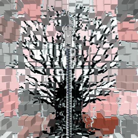 Elisa Pritzker, 'Mondian Tree 6', 2013