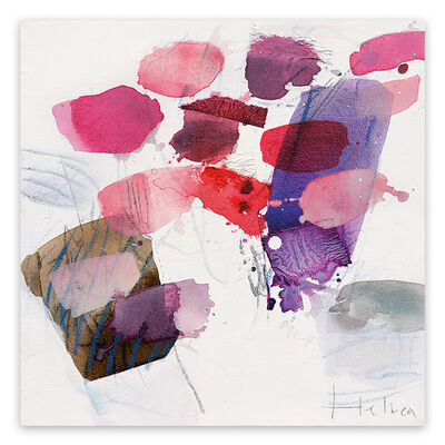 Greet Helsen, 'Color spots III (Abstract Expressionism painting)', 2014