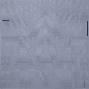 Arantxa Etcheverria, 'Gray Geometric Motif', 2016