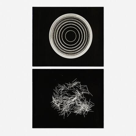 Herbert Matter, 'Untitled (two photograms)', c. 1940