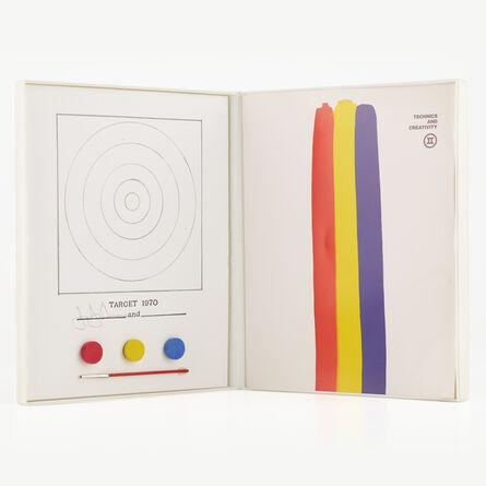 Jasper Johns, 'Technics and Creativity, Target', 1970-71