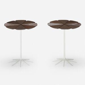 Richard Schultz, 'Petal occasional tables model P320, pair', 1962