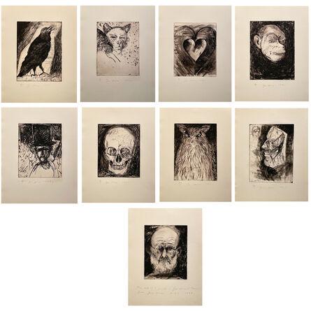 Jim Dine, '9 Studies for Winter Dream', 1994