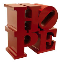 Robert Indiana, 'HOPE (Red)', 2009