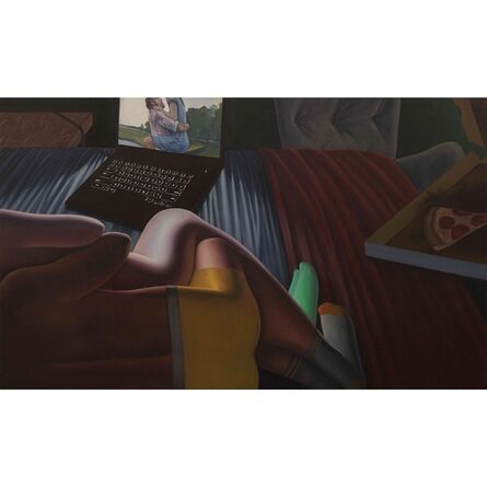 Esteban Ocampo Giraldo, 'Pizza and Computer', 2018
