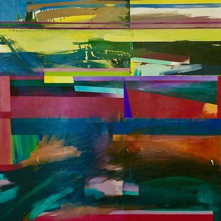 Jane Eccles, 'Bayway Red', 1959