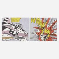 Roy Lichtenstein, 'WHAAM! poster (diptych)', 1963