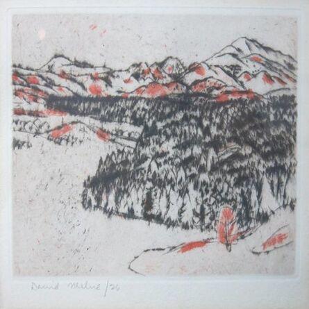 David Milne (1882-1953), 'Adirondack Valley', 1941