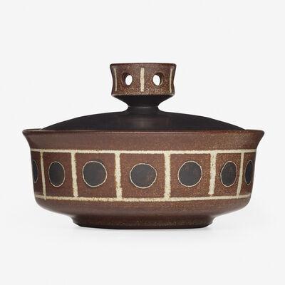 Harrison McIntosh, 'lidded vessel', c. 1955