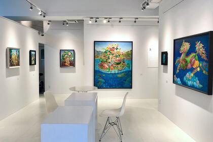 REIJINSHA GALLERY - Yoshinori Iwasawa Solo Exhibition: Food colors and animals