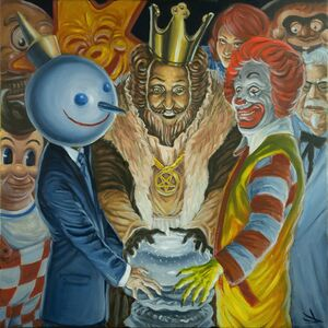 Daniel Toledo, 'Battle Royale with Cheese', 2018