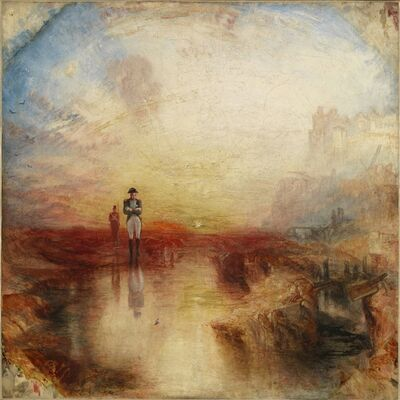 J. M. W. Turner, 'War. The Exile and the Rock Limpet', 1842