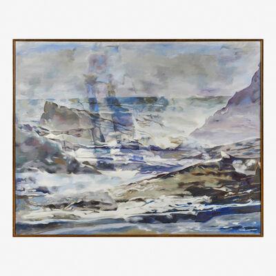 Balcomb Greene, 'Wind, Ocean, Fog (No. 2)', 1963