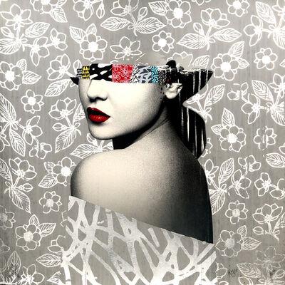 HUSH, 'Le Buste II Artist Proof Silver Leaf', 2021