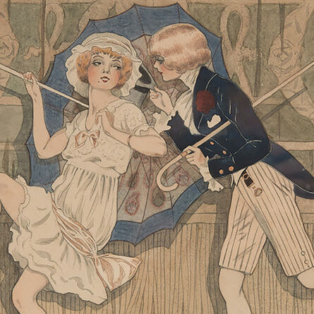 """Edouard TOURAINE, '""""Mad'moiselle, Écoutez-moi donc!""""', 1912"""