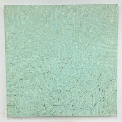 Teo Gonzalez, 'Teo González Untitled #440 (10,000 23.75k gold on copper direct 100 gauge) ', 2007
